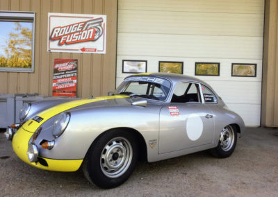 Échappement pour une Porsche