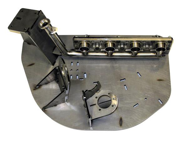 Montage échappement en Inconel - 2